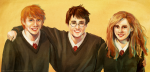 harry_potter__ron_and_hermione_by_cactusrain-d3lhh7o